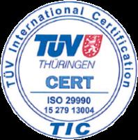 ORGAKOM ist eine zertifizierte Akademie nach DIN ISO 29990